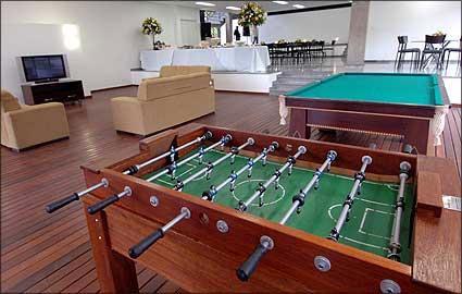Hotel para o time profissional - Sala derecreação