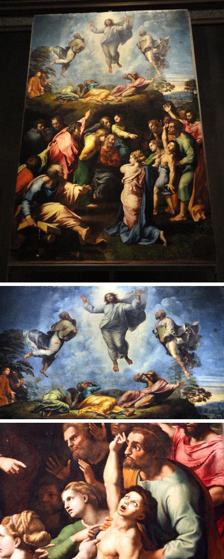 A Transfiguração, de Rafael Sanzio
