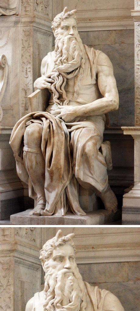 San Pietro in Vincoli - Moisés, de Michelangelo